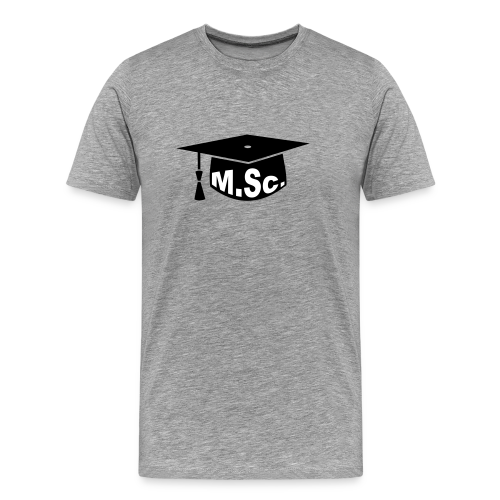 Doktorhut Master of Science M.Sc Doktorarbeit - Männer Premium T-Shirt
