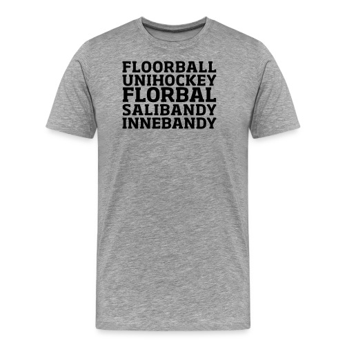 words - Men's Premium T-Shirt
