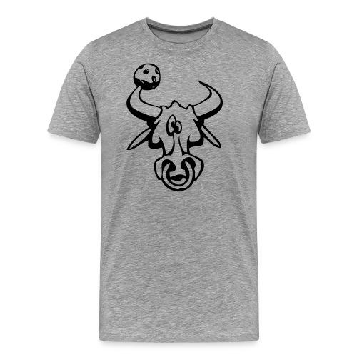 oxen ai - Premium-T-shirt herr