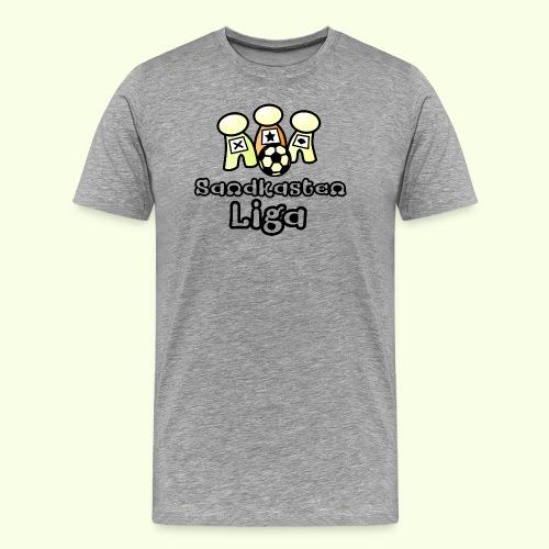 Sandkastenliga Logo - Männer Premium T-Shirt
