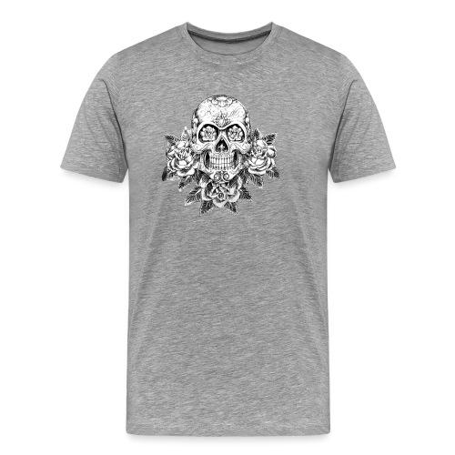 Tribal Skull - Maglietta Premium da uomo