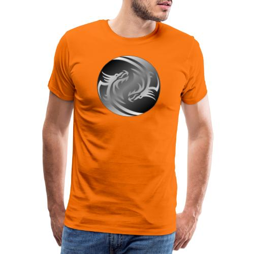 Yin Yang Dragon - Men's Premium T-Shirt