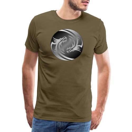 Yin Yang Dragon - Men's Premium T-Shirt