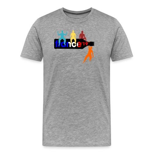 France Shirt Jungs Flasche vector bunt neu - Männer Premium T-Shirt