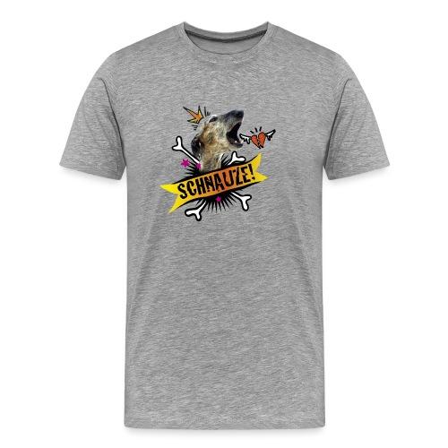 Schnauze - Männer Premium T-Shirt