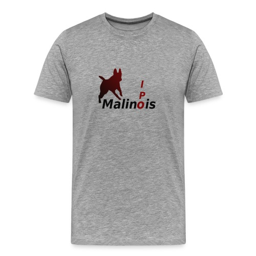 IPO Malinois Männer T-Shirt V Ausschnitt - Männer Premium T-Shirt
