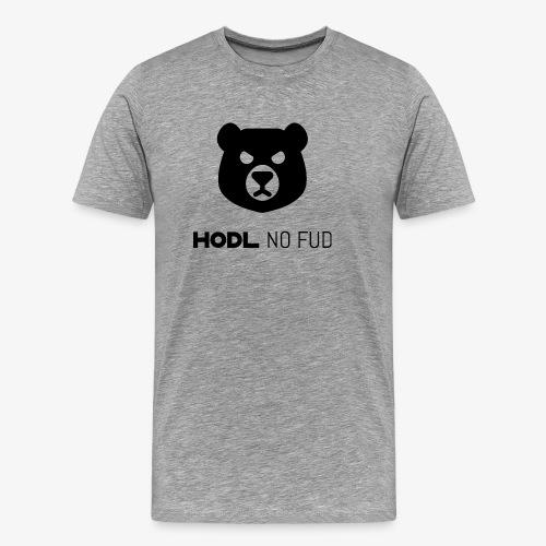 HODL-bearnofud-b - Men's Premium T-Shirt