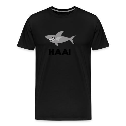 haai hallo hoi - Mannen Premium T-shirt