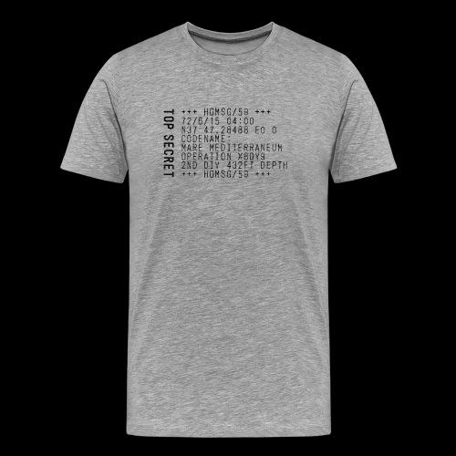 Top Secret (black) - Men's Premium T-Shirt