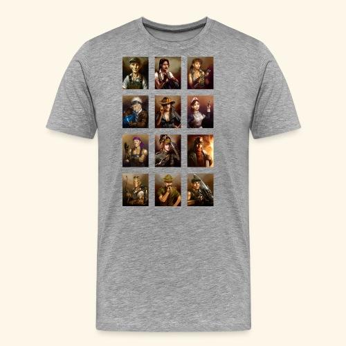 Crew Artwork - Men's Premium T-Shirt