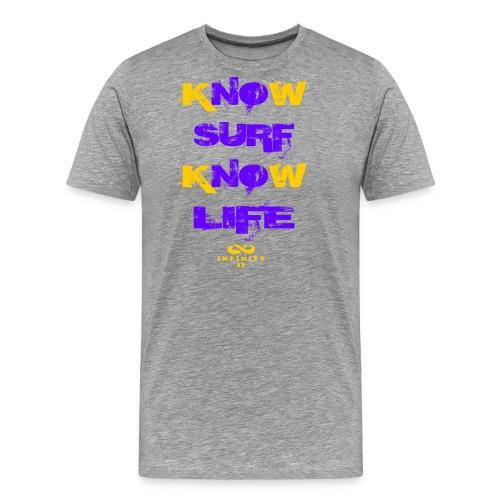 Surf Life Violet - Camiseta premium hombre