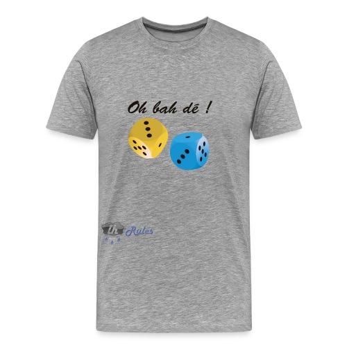 Logo LH rules v3 png - T-shirt Premium Homme