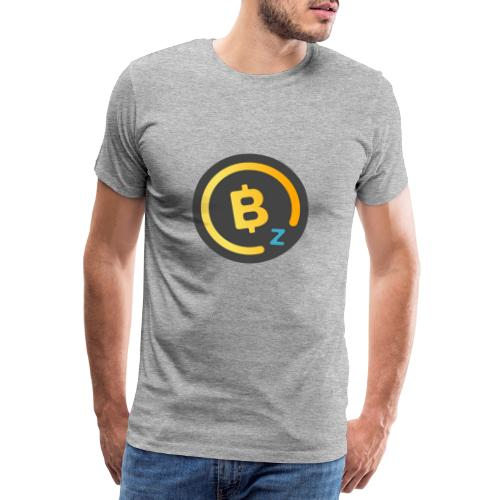 Dark BitcoinZ Logo - Men's Premium T-Shirt