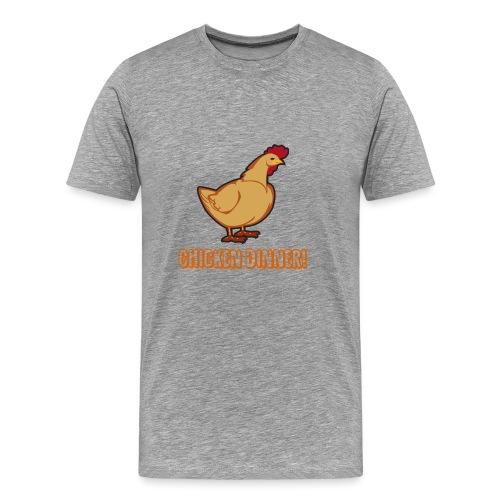 Chicken Dinner! - Premium T-skjorte for menn