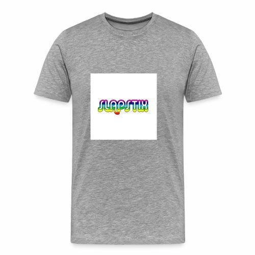 slapstix logo - Men's Premium T-Shirt