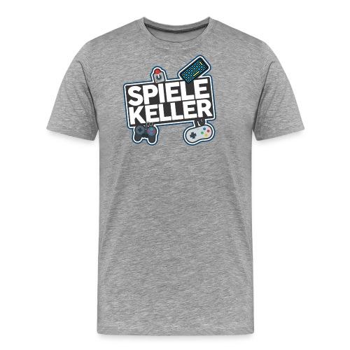 Spielekeller Logo - Männer Premium T-Shirt