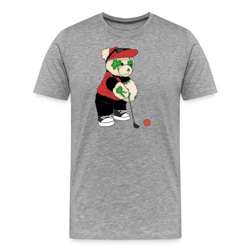 bearauctiongraphic png - Men's Premium T-Shirt