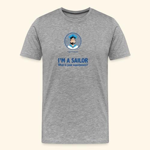 SeaProof Superpower - Männer Premium T-Shirt