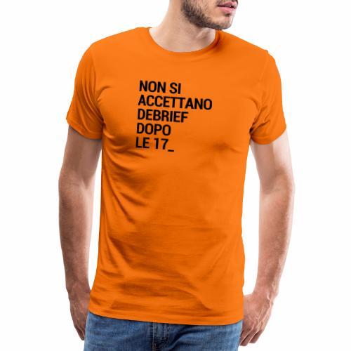 Debrief - Maglietta Premium da uomo