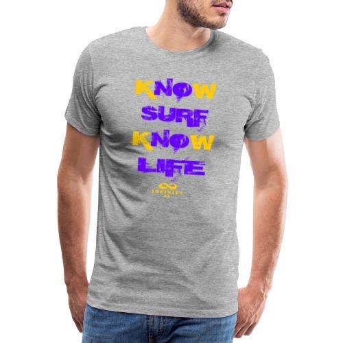 Surf Life Violet - Men's Premium T-Shirt