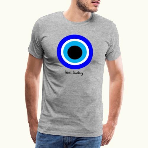 luck eye - Mannen Premium T-shirt
