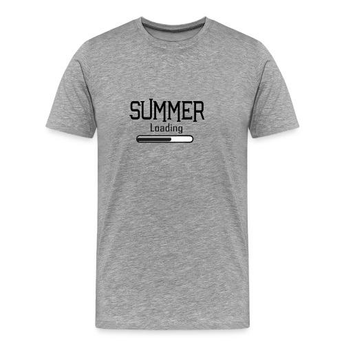 En attente de l'été - T-shirt Premium Homme