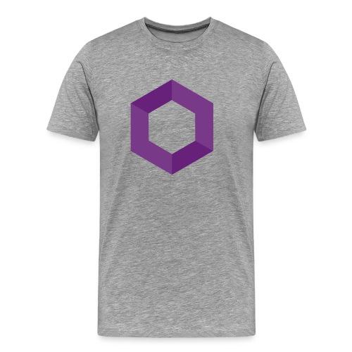 hexagon png - Men's Premium T-Shirt