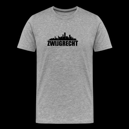 Zwijgrecht - Mannen Premium T-shirt