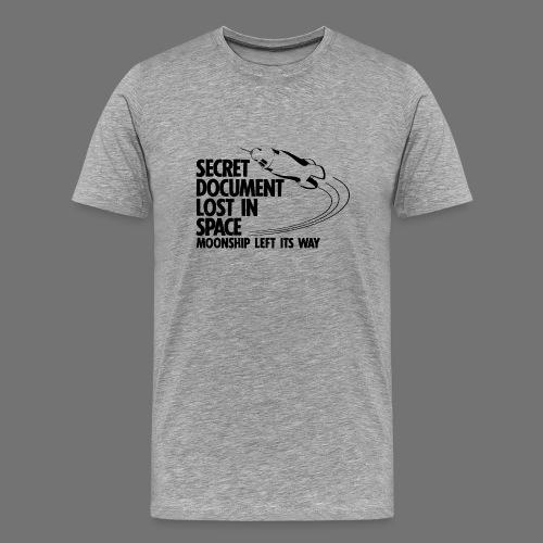 Przegrana Dokument (czarny) - Koszulka męska Premium