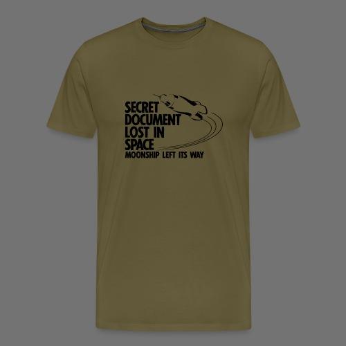 Lost Document (black) - Men's Premium T-Shirt