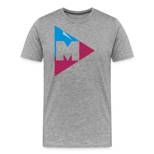magnus logo 5 - Herre premium T-shirt