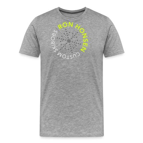 ronhonsen science logo3c - Männer Premium T-Shirt