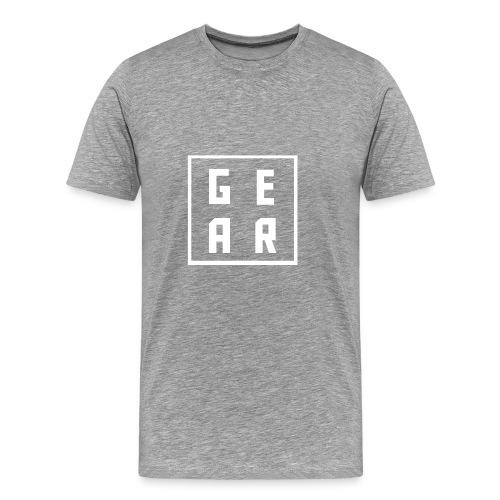 GearWear Sweatshirt | Man Black - Mannen Premium T-shirt