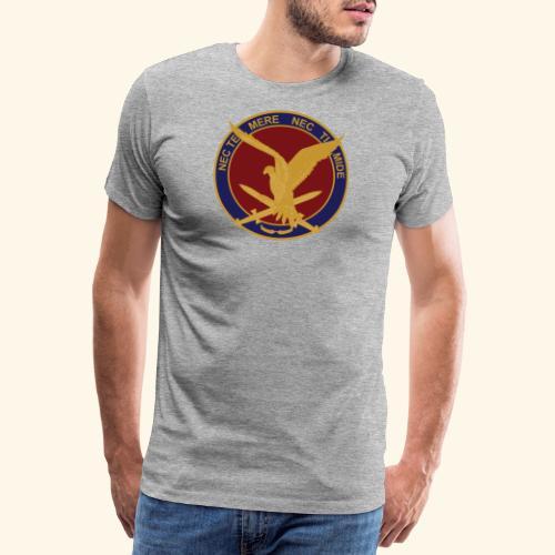 11 aaslt herinneringsenmbleem - Mannen Premium T-shirt