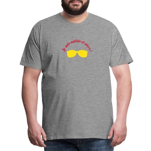 JE SUIS AUTISTE ET ALORS - T-shirt Premium Homme