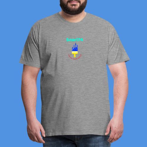 Paint - Maglietta Premium da uomo