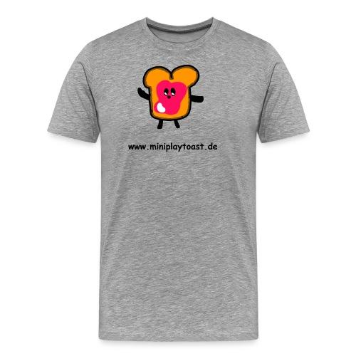 MINIPLAYTOAST Fanartikel - Männer Premium T-Shirt