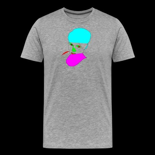 Eule1 - Männer Premium T-Shirt