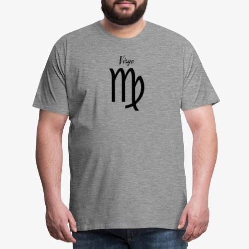 Virgo Sternzeichen T-Shirt - Männer Premium T-Shirt