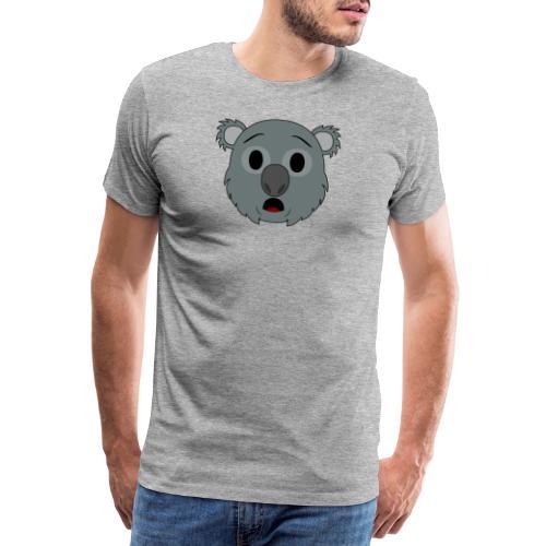 Koala Klay Asombro - Camiseta premium hombre