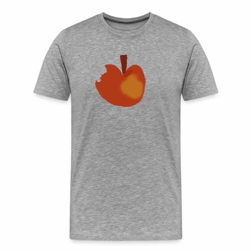 Apfel abgebissen - Männer Premium T-Shirt