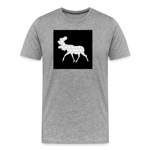 Moose Walk - Men's Premium T-Shirt