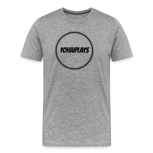 Sirkel logo - Premium T-skjorte for menn