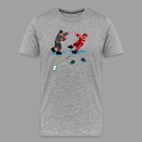 GLOVES OFF! - Men's Premium T-Shirt