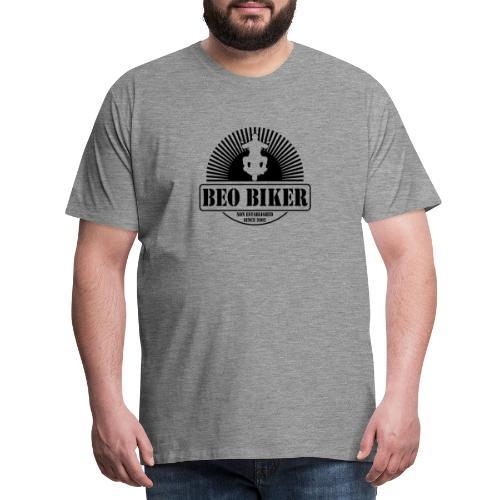 Logo Beo Biker Black - Männer Premium T-Shirt