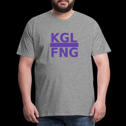 KGLFNG lila - Männer Premium T-Shirt