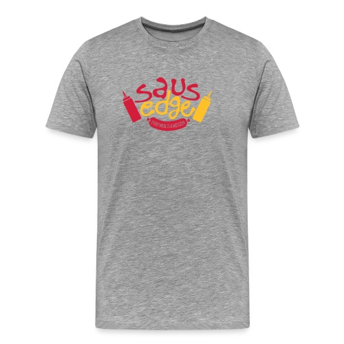 Ketchup Mustard - Premium-T-shirt herr