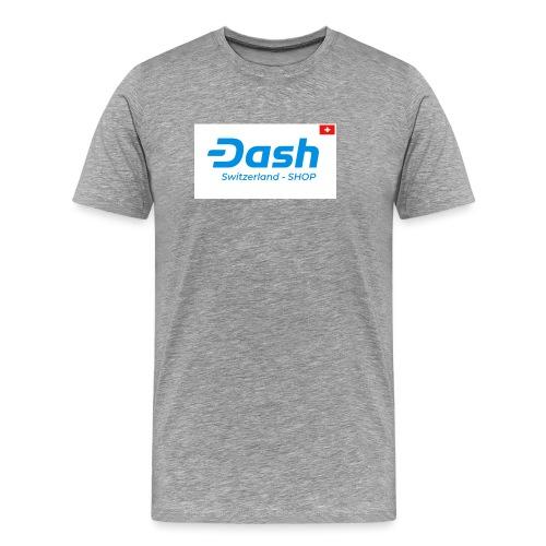 logo dash switzerland SHOP - Männer Premium T-Shirt