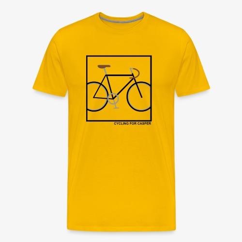 Fixie in square - Mannen Premium T-shirt