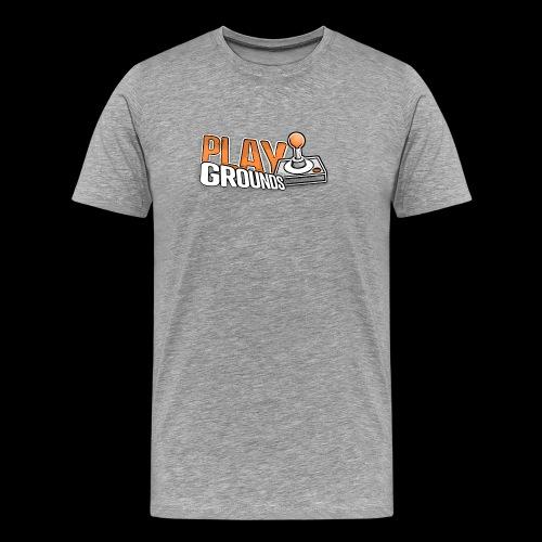 playgrounds logo - Männer Premium T-Shirt